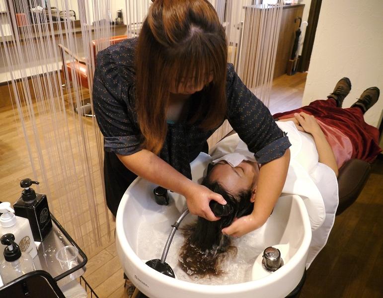 髪質改善トリ-トメントエステ
